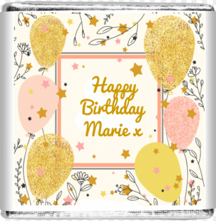 free PNG 25 x happy birthday gold & pink balloons - expense log book: the best spending log book to business PNG image with transparent background PNG images transparent