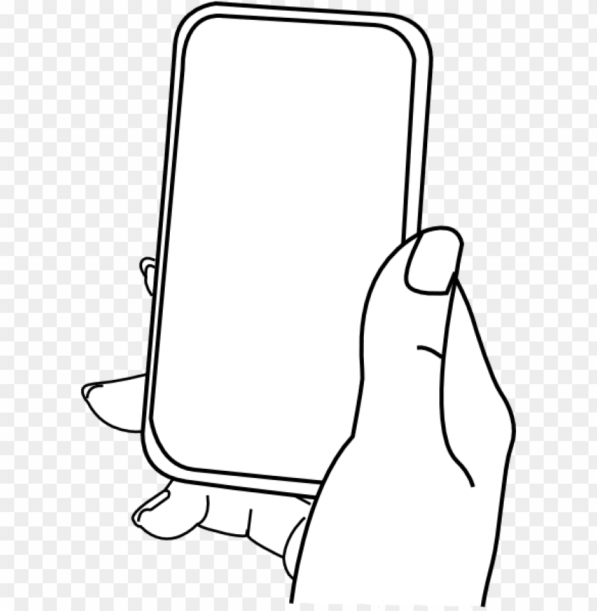 free PNG 28 collection of iphone drawing cartoon - hand holding iphone cartoo PNG image with transparent background PNG images transparent