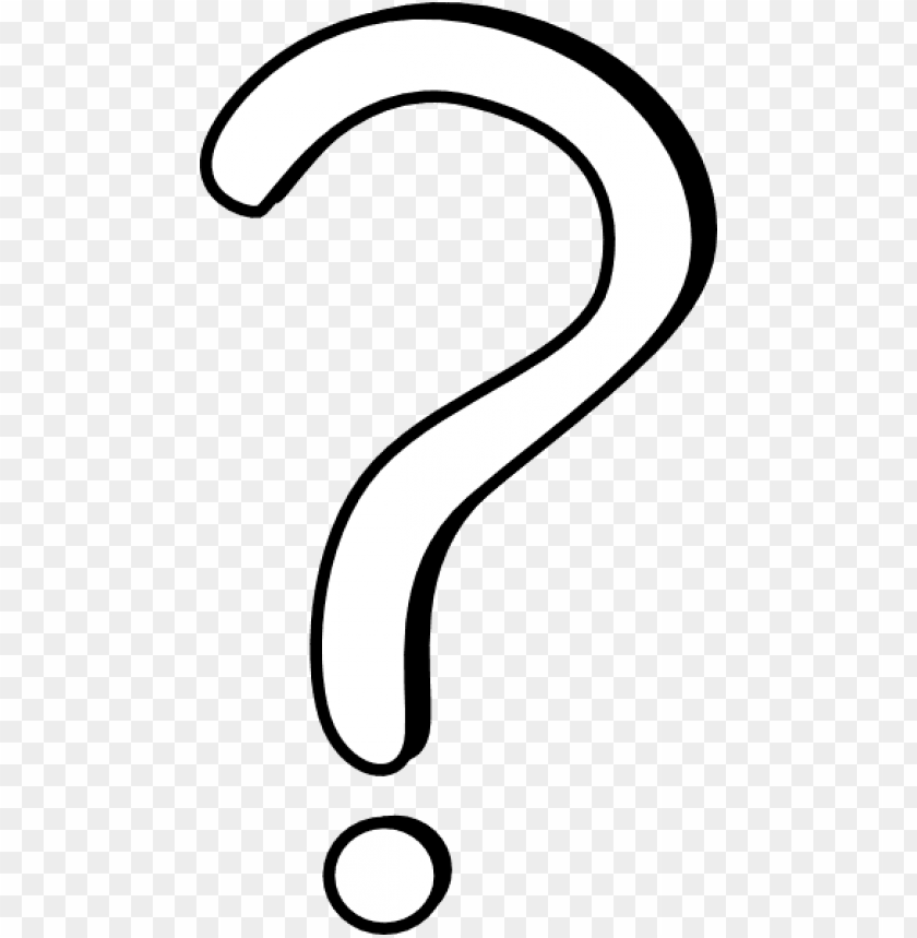 free PNG 28 collection of question mark drawing png - question mark clipart white PNG image with transparent background PNG images transparent