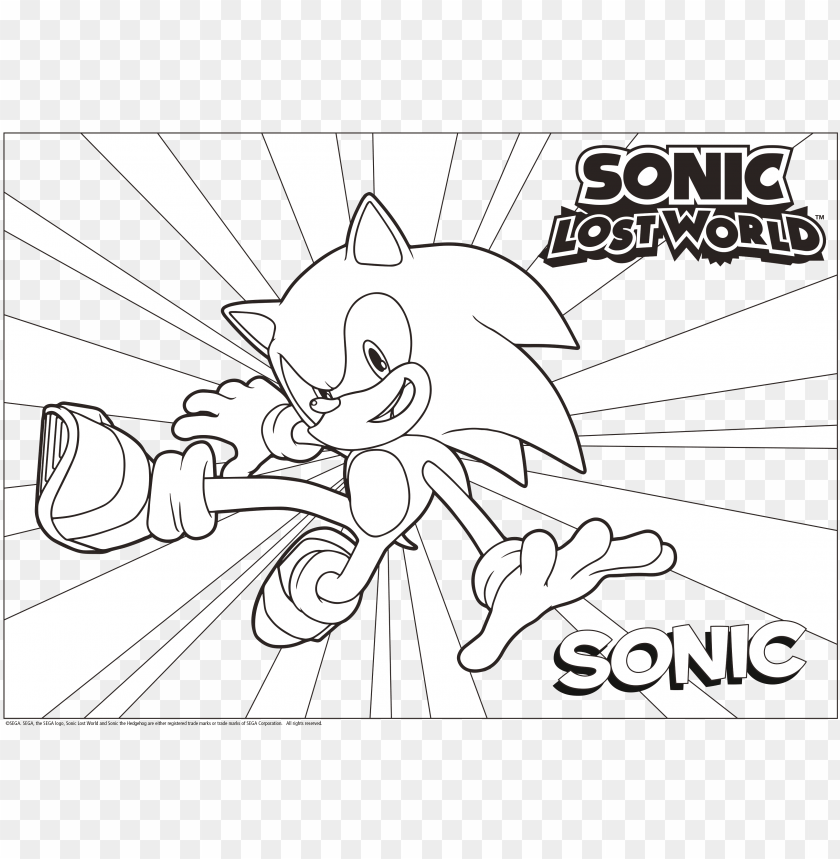 28 Collection Of Sonic Mania Coloring Pages Sonic Adventure 2 Png Image With Transparent Background Toppng