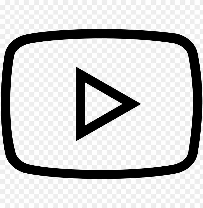 free PNG 28 collection of youtube play button drawing - youtube icon transparent white PNG image with transparent background PNG images transparent