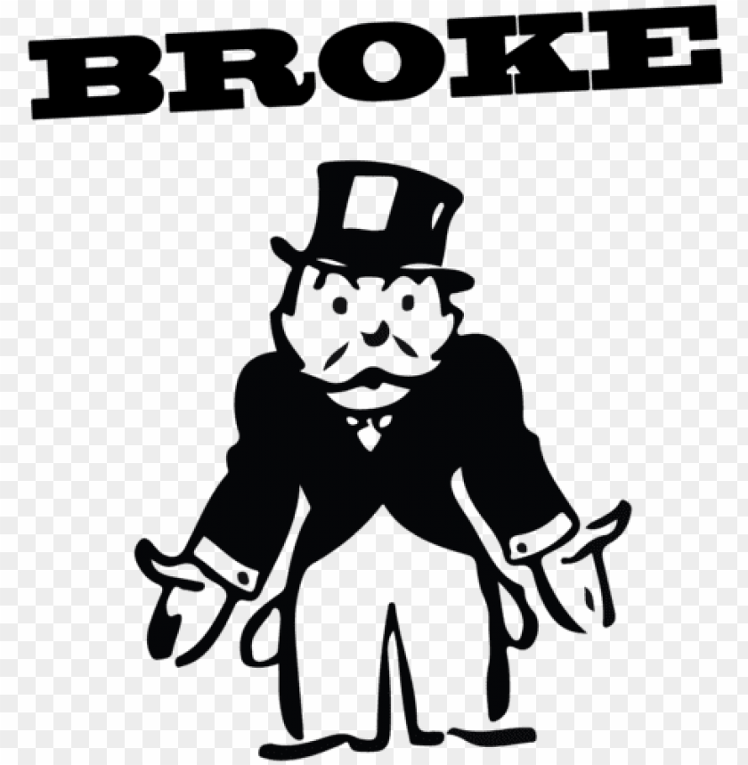 free PNG 29kib, 500x500, monopoly man broke - broke monopoly ma PNG image with transparent background PNG images transparent