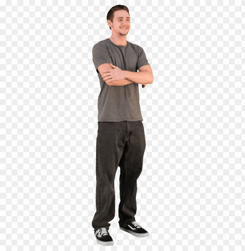 free PNG 2d cut out people casual v 6 cadrender store - standing people PNG image with transparent background PNG images transparent
