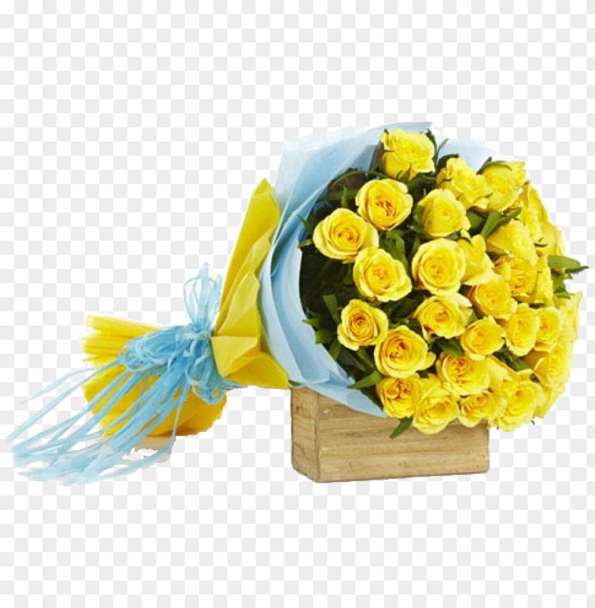 free PNG 2dozen yellow roses bouquet - bouquet of flowers yellow roses PNG image with transparent background PNG images transparent