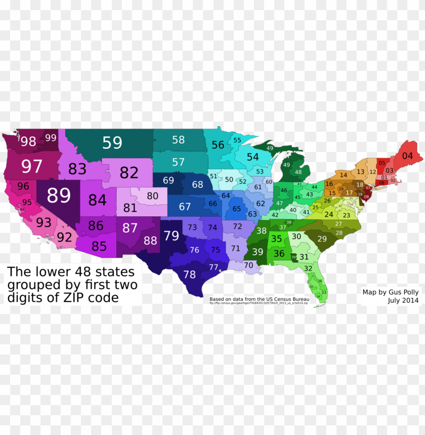 free PNG 3 digit zip code map united states this map shows the - 2 digit zip ma PNG image with transparent background PNG images transparent