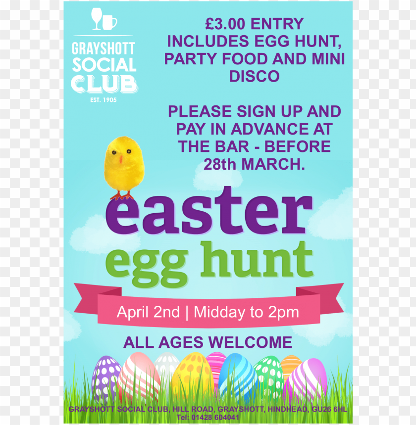 3 Entry Which Includes Egg Hunt Party Food And Mini Employees
