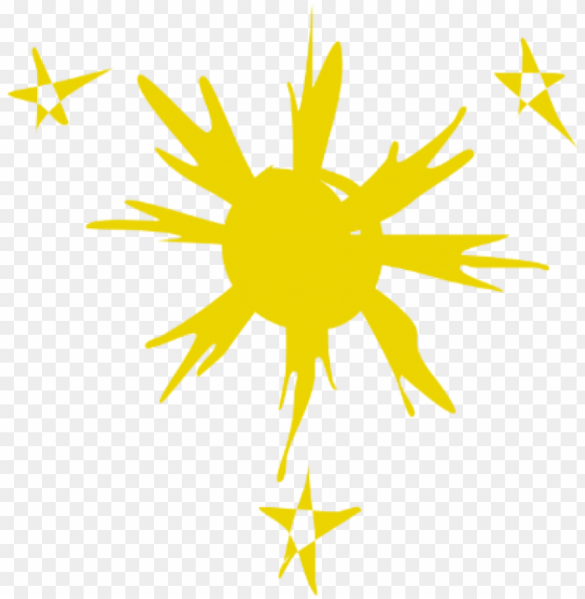 free PNG 3 star and the sun png - stars and sun PNG image with transparent background PNG images transparent