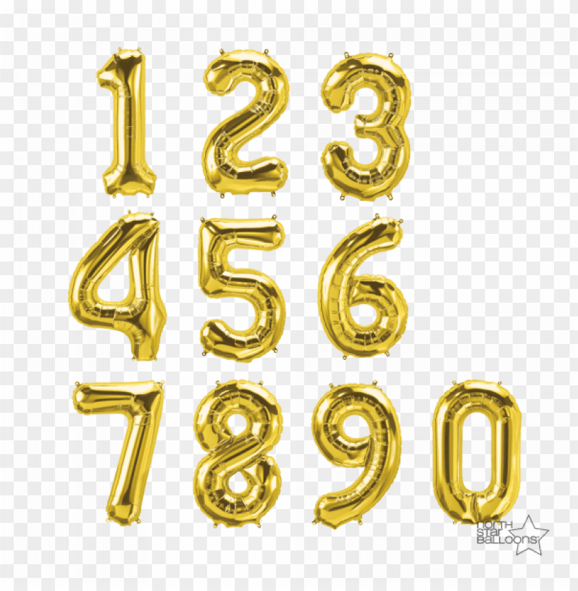 free PNG 34 inch gold numbers - gold numbers transparent PNG image with transparent background PNG images transparent