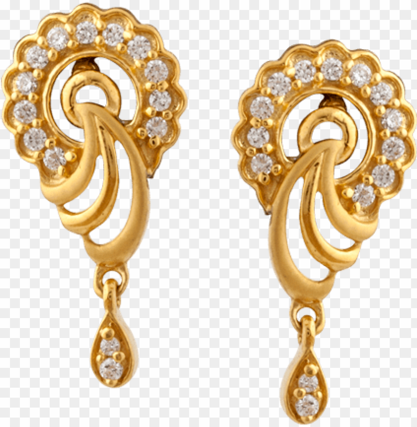 free PNG 37 png gold earrings, jewelry png images free download, - trendy earrings for women gold PNG image with transparent background PNG images transparent