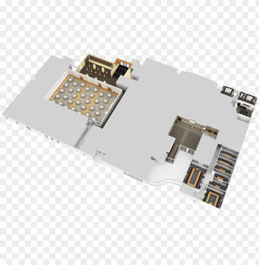 free PNG 3d floor maps - convention centre 3d floor pla PNG image with transparent background PNG images transparent