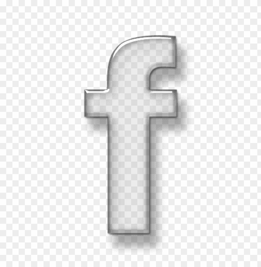 free PNG 3d glass transparent glass icon social media logos facebook logo png - Free PNG Images PNG images transparent
