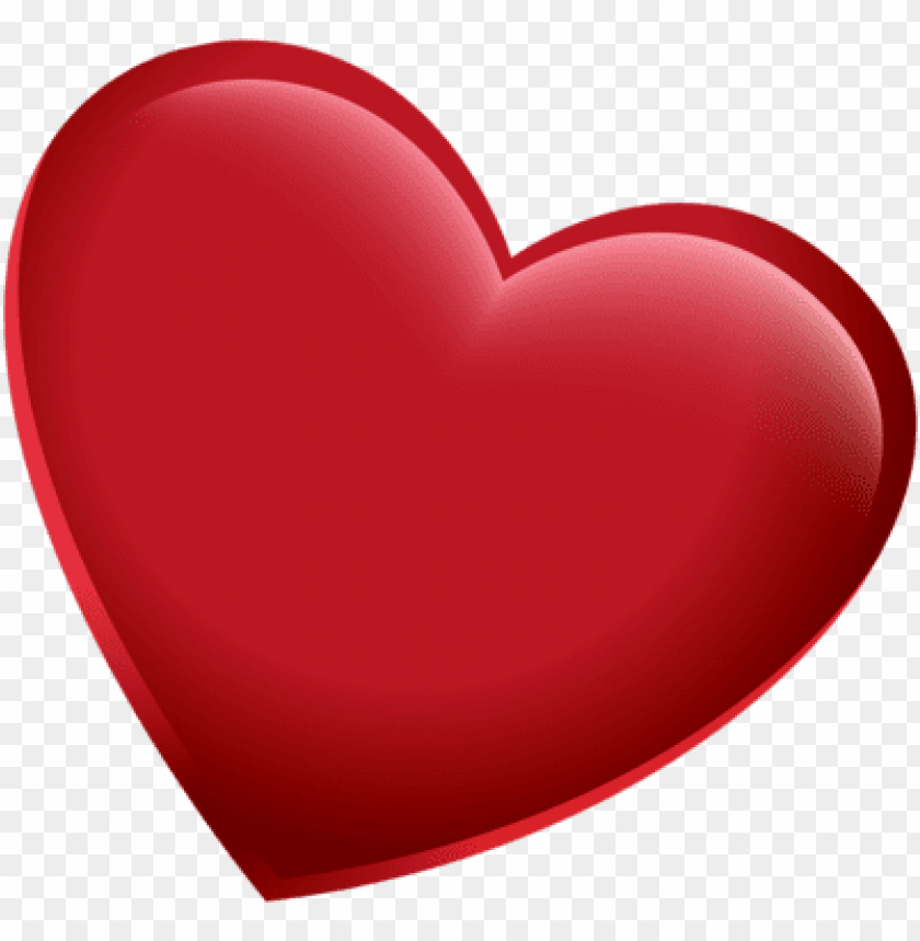 free PNG 3d red heart png pic - heart psd PNG image with transparent background PNG images transparent