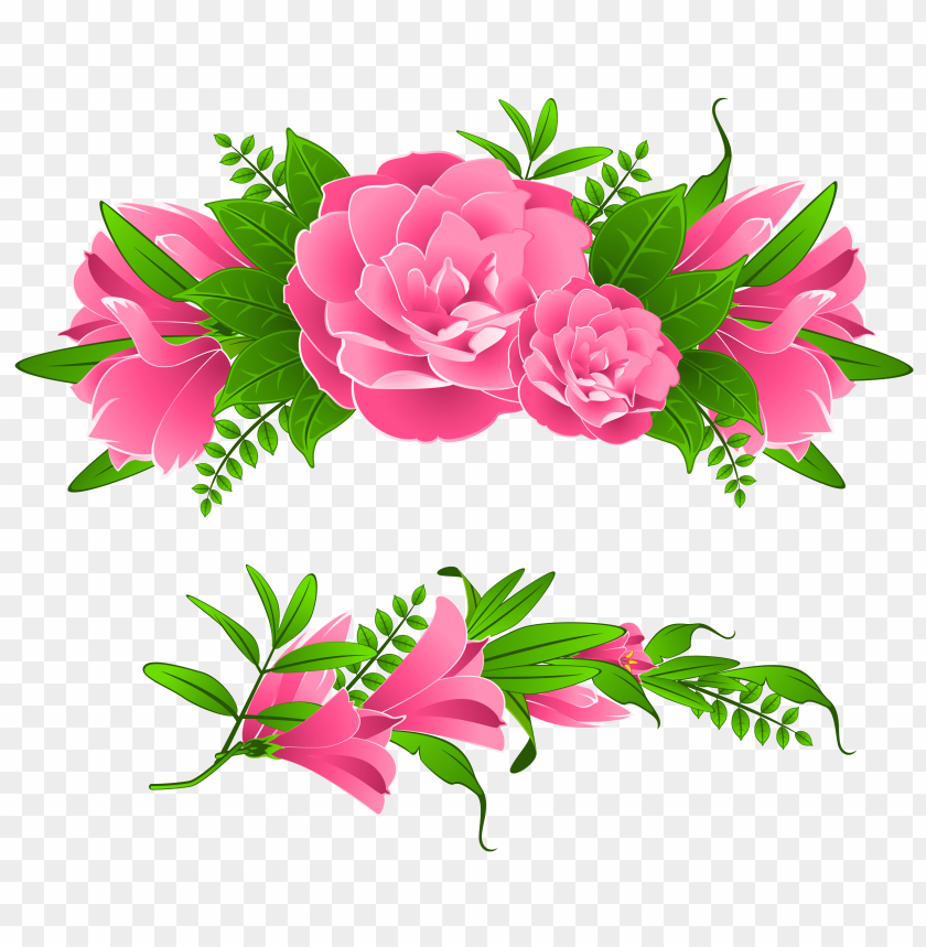 free PNG flowers borders free png - Free PNG Images PNG images transparent