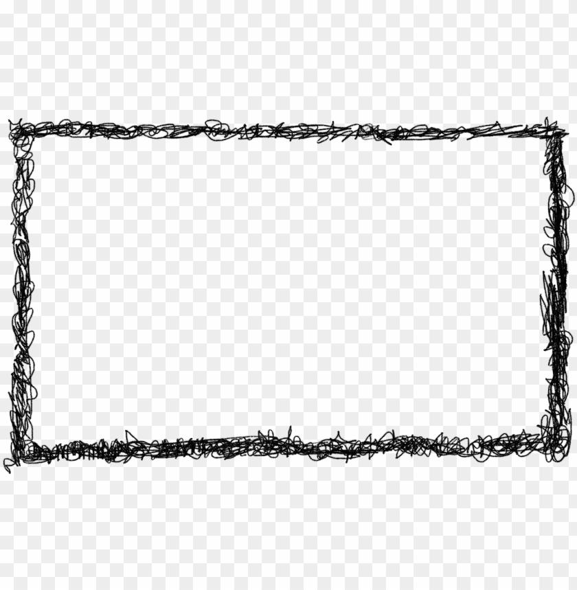 free PNG 4 rectangle scribble frame - rectangle frame PNG image with transparent background PNG images transparent