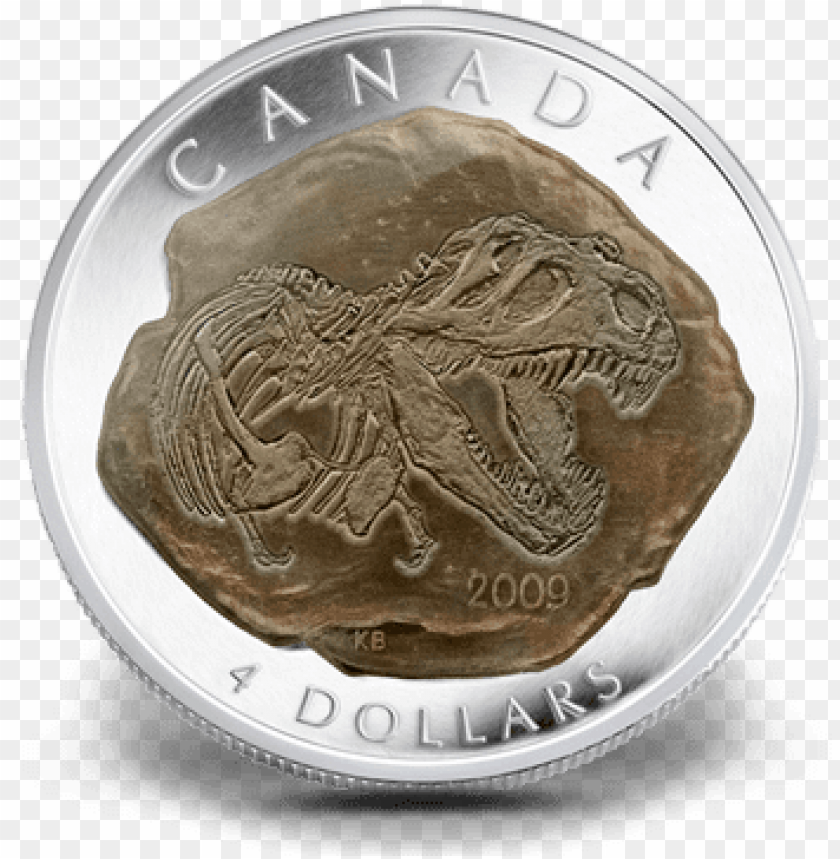 free PNG $4 silver coin - 4 dollar coin canada PNG image with transparent background PNG images transparent