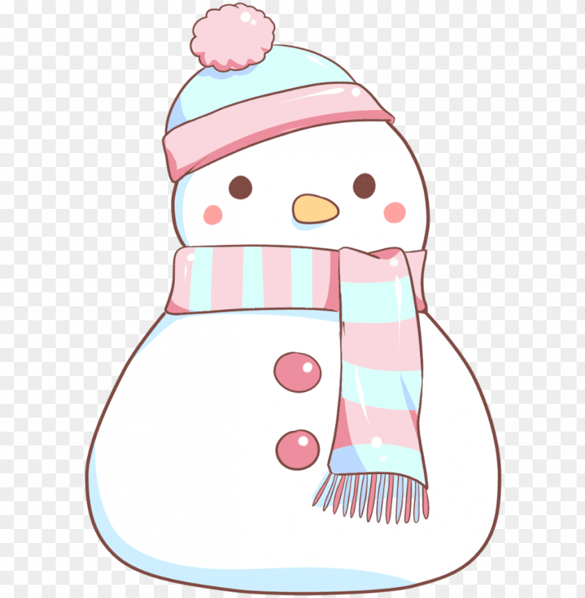 free PNG 48-snowman - kawaii snowman PNG image with transparent background PNG images transparent