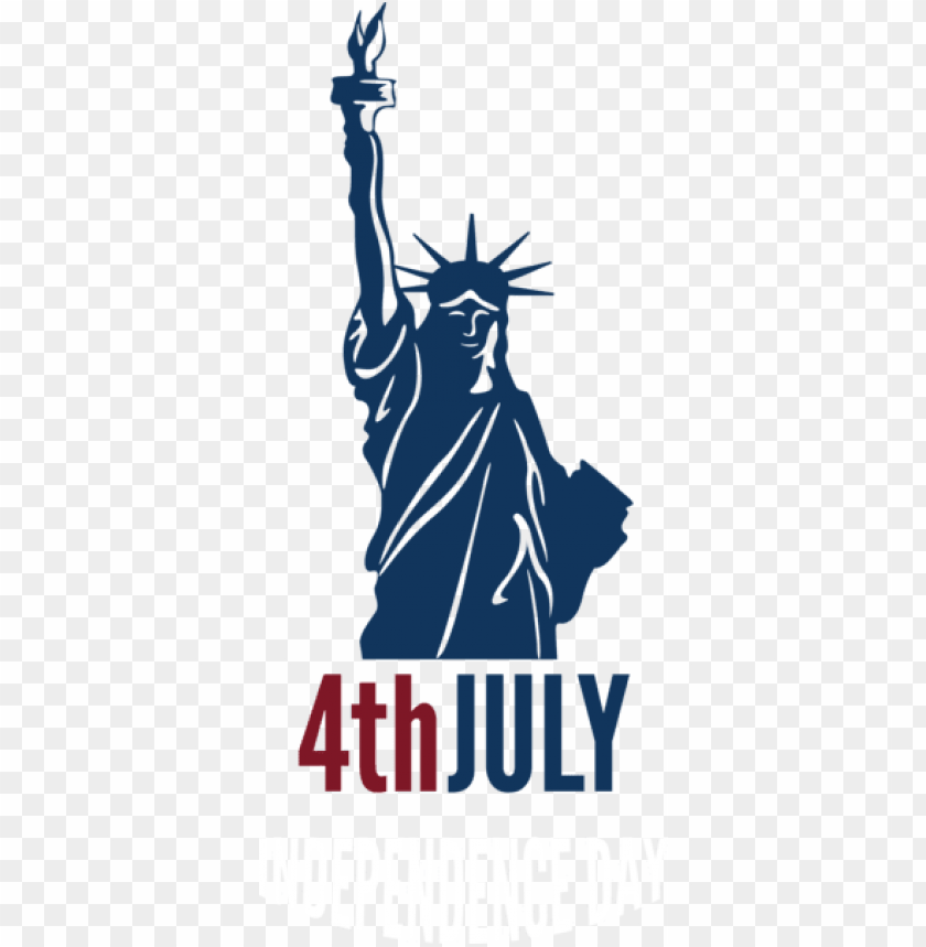 free PNG Download 4th july independence day with statue of liberty png images background PNG images transparent