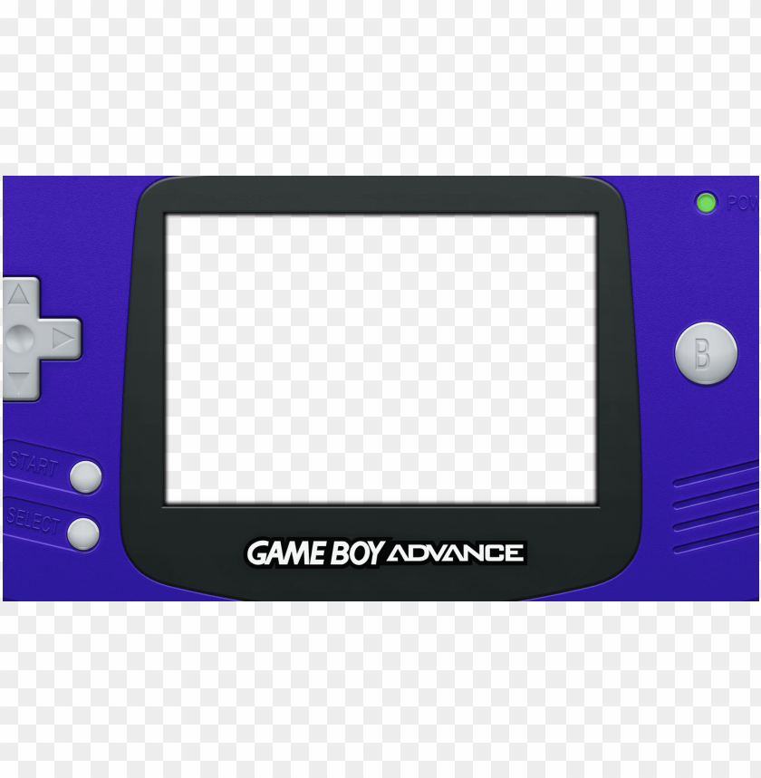 4whllno Nintendo Game Boy Advance Bezel Png Image With Transparent Background Toppng