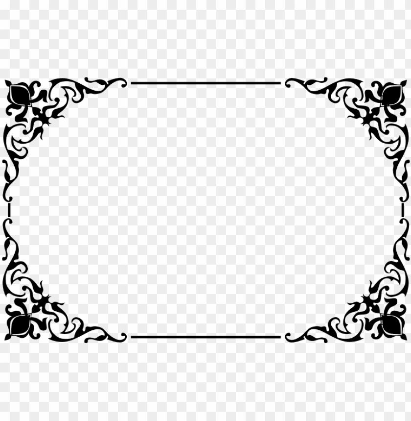 free PNG decorative border png png - Free PNG Images PNG images transparent