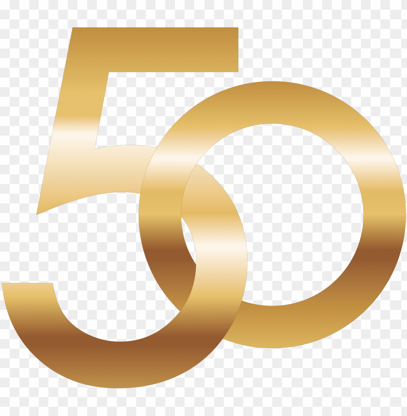 50 Number Png Image Gold Number 50 Png Image With Transparent Background Toppng
