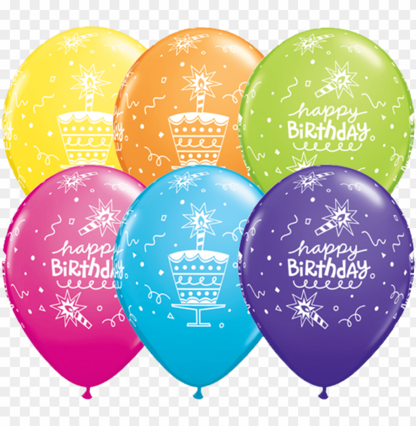 free PNG 6 happy birthday balloons - happy birthday balloons and teddy PNG image with transparent background PNG images transparent