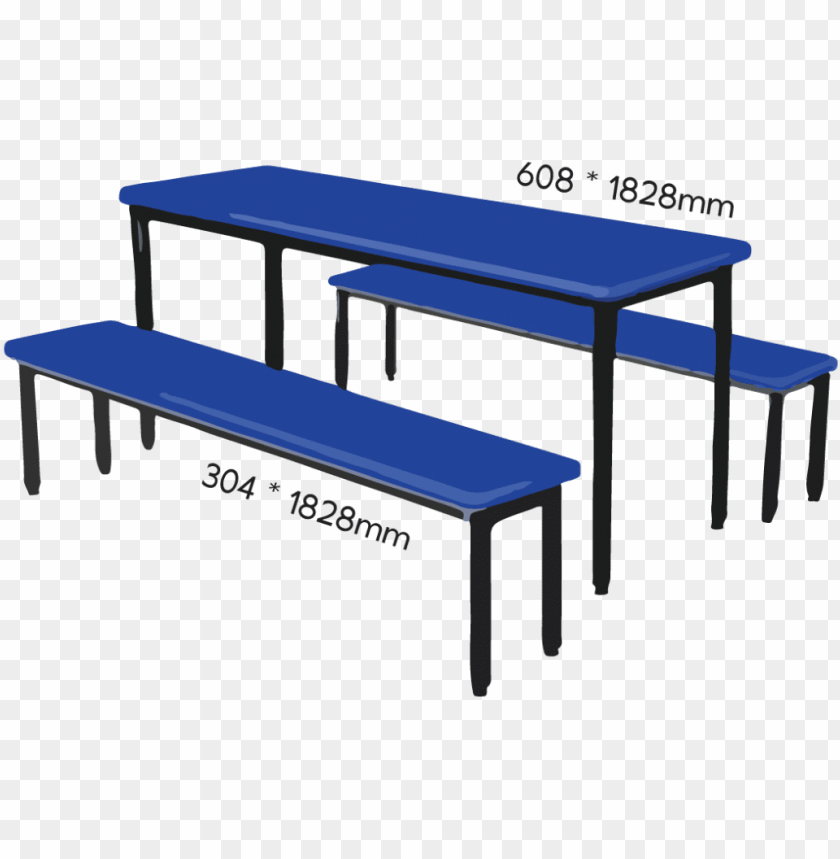 Brilliant 6 Person Square Canteen Table Set Wood Bench 3D Model Png Ocoug Best Dining Table And Chair Ideas Images Ocougorg