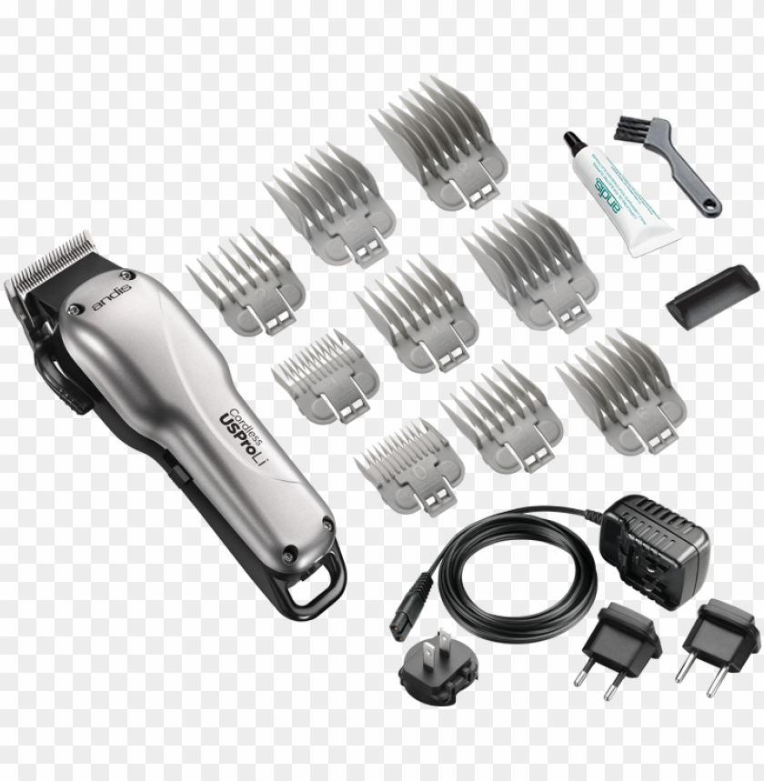 free PNG 73010 cordless uspro li clipper lcl kit png - andis cordless us pro li PNG image with transparent background PNG images transparent