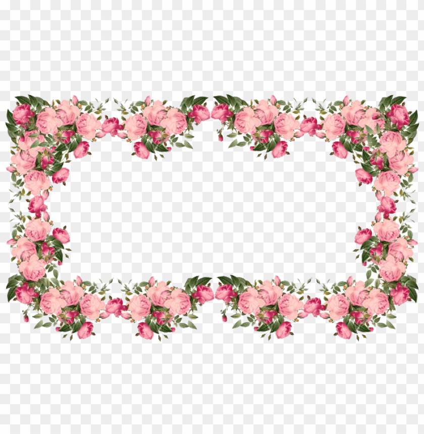 flowers borders transparent png - Free PNG Images@toppng.com