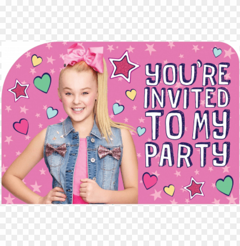 Wallpaper Jojo Siwa Invitations