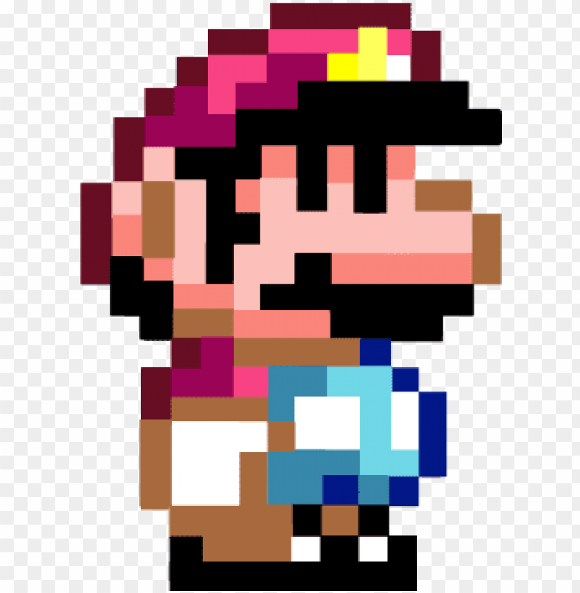 8 Bit Games Super Mario Png Image With Transparent Background