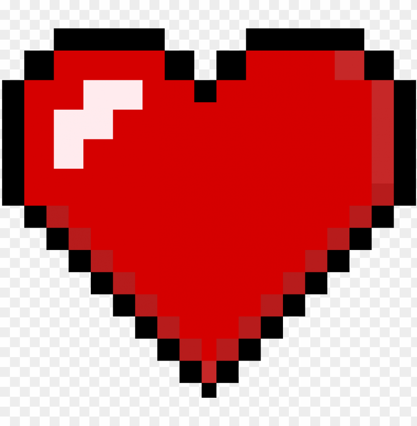 free PNG 8-bit heart - pixel heart PNG image with transparent background PNG images transparent