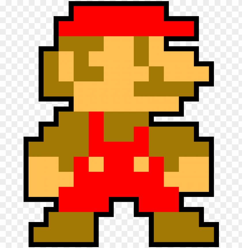 8 Bit Mario 8 Bit Luigi Pixel Png Image With Transparent