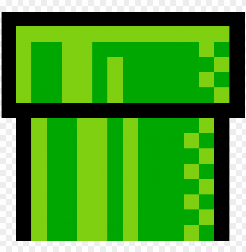 8 Bit Mario Tunnel Png Image With Transparent Background Toppng