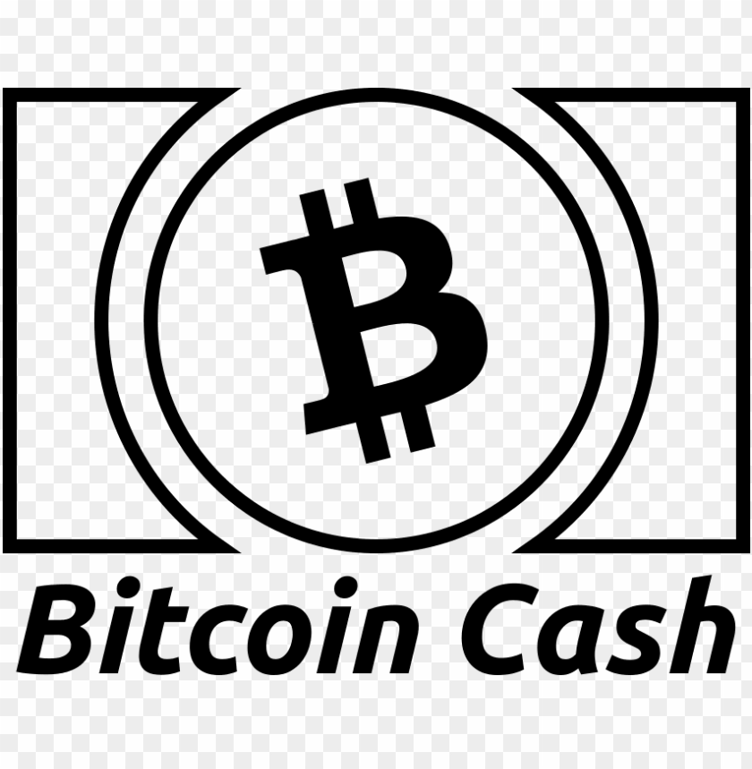 848 672 Pixels Bitcoin Cash White Logo Png Image With Transparent Background Toppng