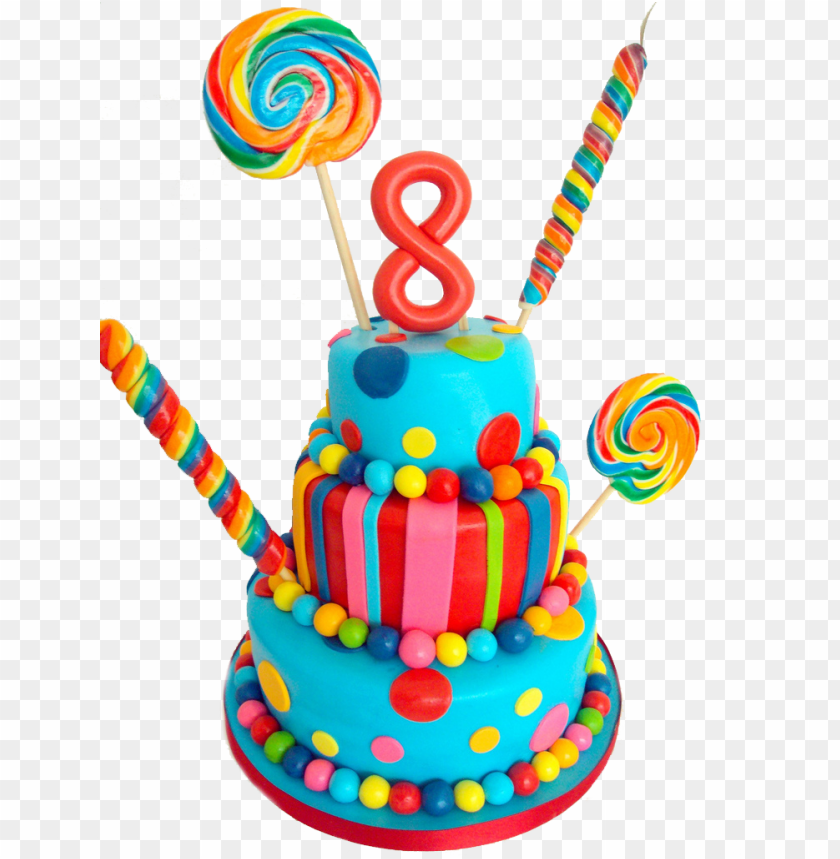 free PNG 8th birthday cake copy - happy birthday 8th birthday cake PNG image with transparent background PNG images transparent