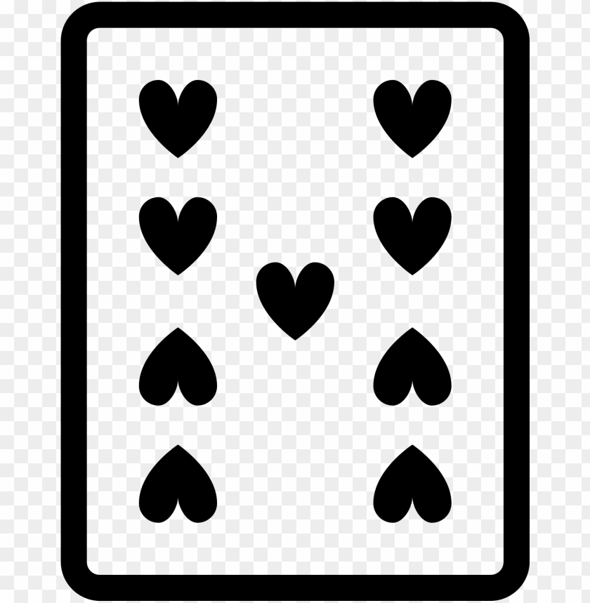 free PNG 9 de copas icon - blue playing cards icons PNG image with transparent background PNG images transparent
