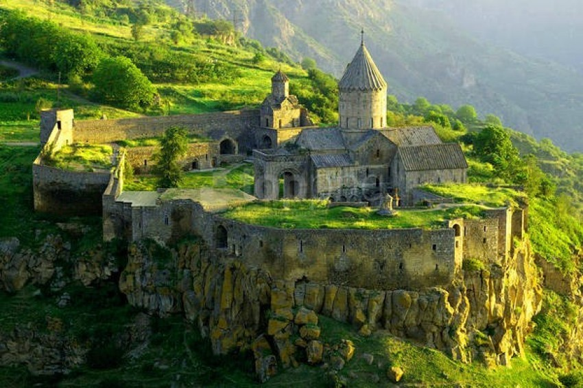 free PNG 9th century monastery of tatev in southeastern armenia wallpaper background best stock photos PNG images transparent