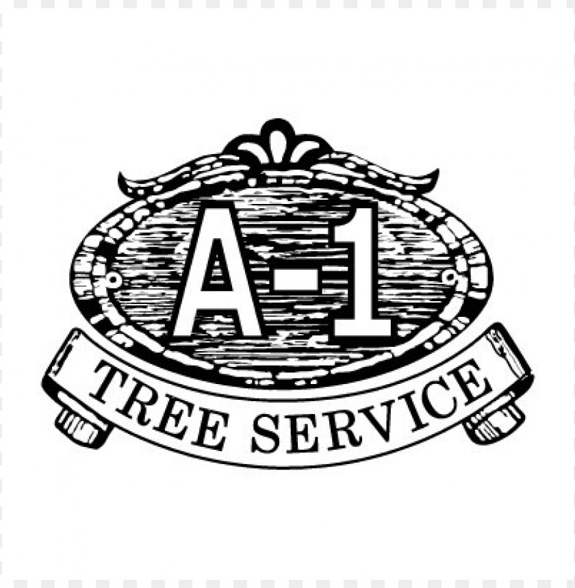 free PNG a-1 tree service logo vector PNG images transparent