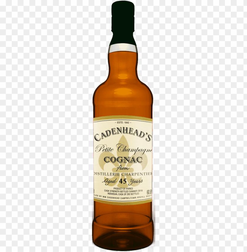 free PNG a bottle of cognac - kilkerran 2007 cadenhead PNG image with transparent background PNG images transparent