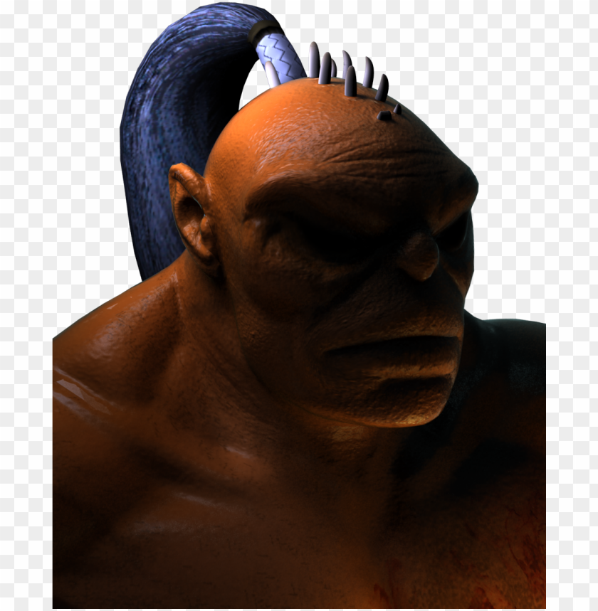 free PNG a crack at goro's character portrait, here you go - huma PNG image with transparent background PNG images transparent