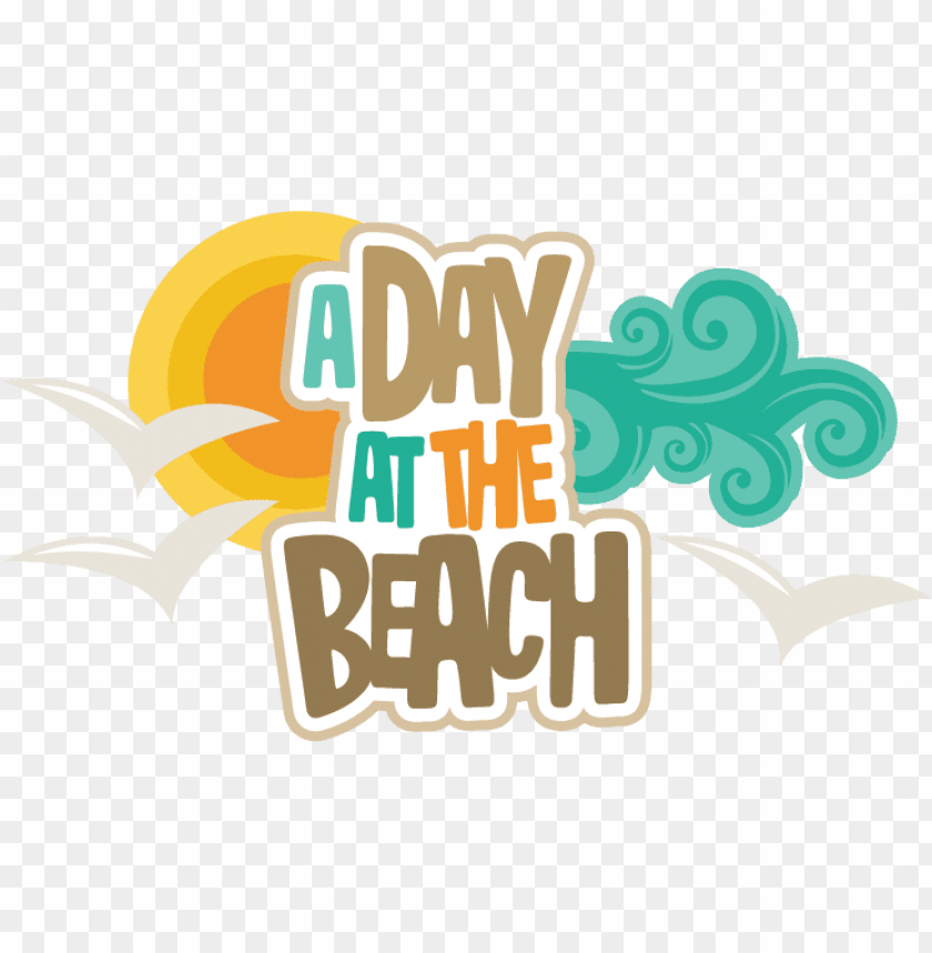 free PNG a day at the beach clipart - clipart beach day PNG image with transparent background PNG images transparent