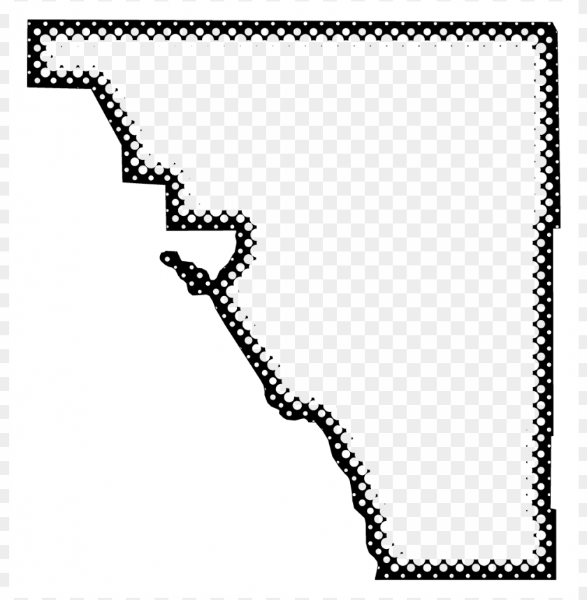 free PNG a map of osceola with dots reversed out of a black - monochrome PNG image with transparent background PNG images transparent