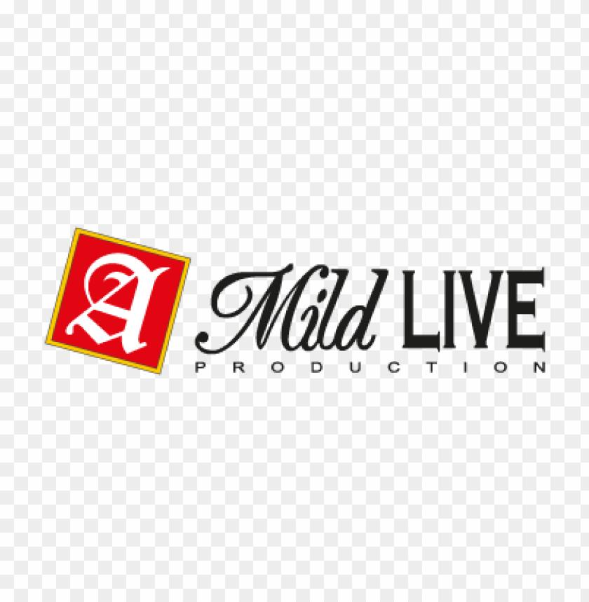 free PNG a mild live production logo vector PNG images transparent