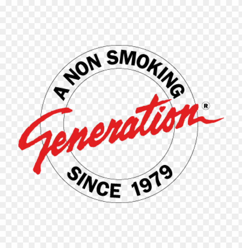free PNG a non smoking generation vector logo free download PNG images transparent