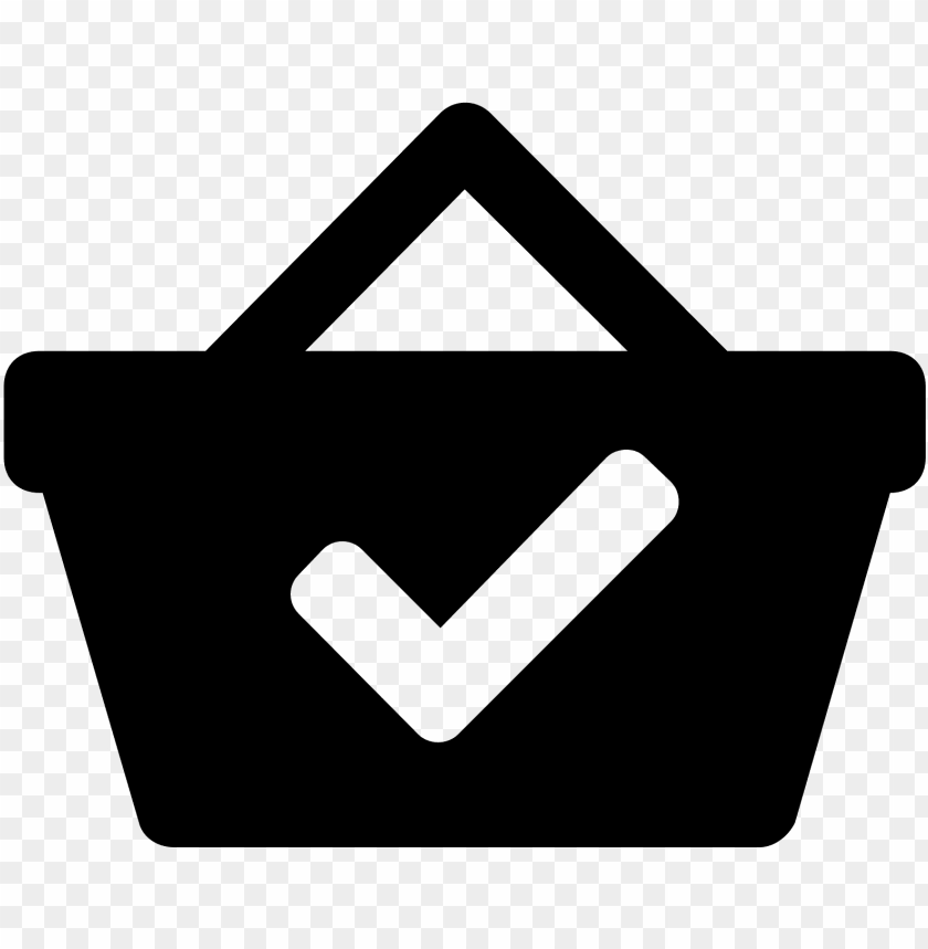free PNG a paid icon is shown with a hand basket that you go - icon png - Free PNG Images PNG images transparent