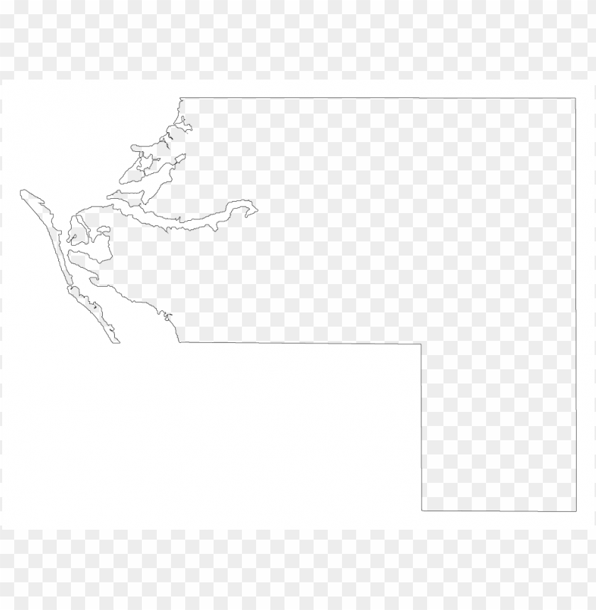 a plain frame map of manatee PNG image with transparent background@toppng.com