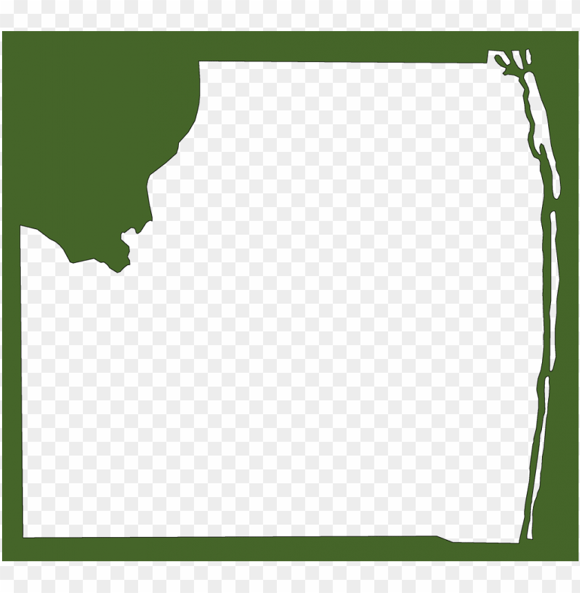 a plain frame map of palm beach PNG image with transparent background@toppng.com