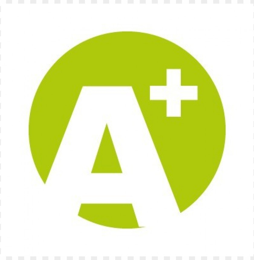 free PNG a plus logo vector PNG images transparent