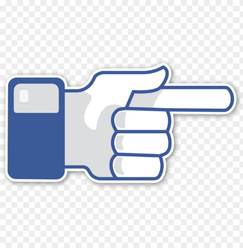 free PNG a pointing finger sticker - blue pointing finger sticker like PNG image with transparent background PNG images transparent