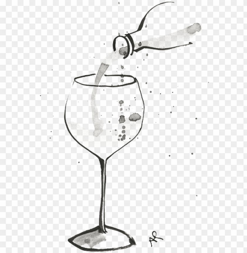 free PNG a-wineglass - wine illustrations PNG image with transparent background PNG images transparent